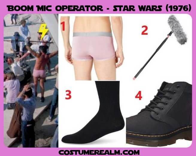 Star Wars Boom Mic Operator Costume