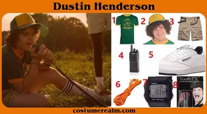 Stranger Things Dustin Season 3 Outfits