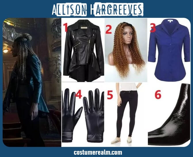 Allison Hargreeves Outfits