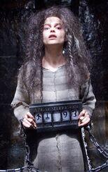 Bellatrix while imprisoned in Azkaban