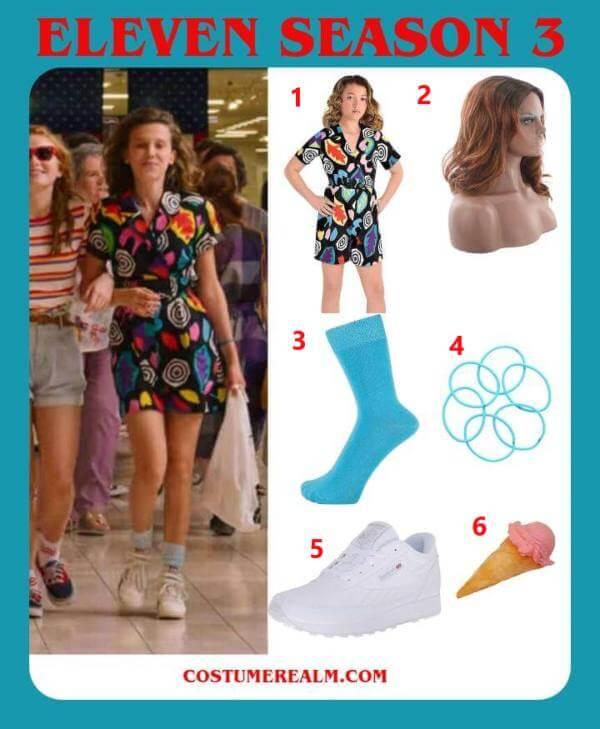 Eleven Season 3 Outfits
