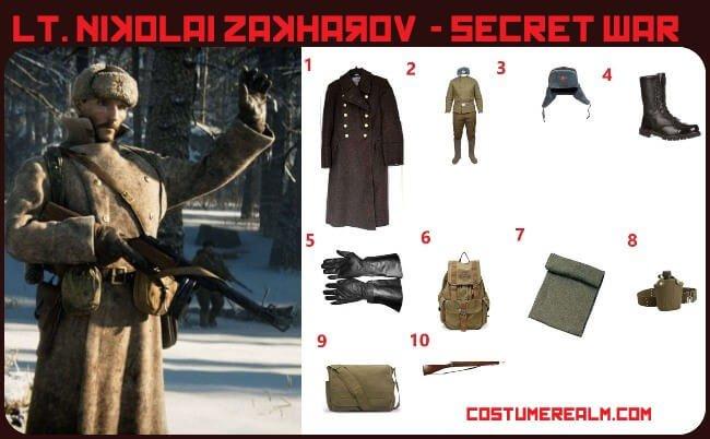 Lt. Nikolai Zakharov Costume