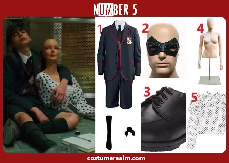 Umbrella Academy Number 5 Costume