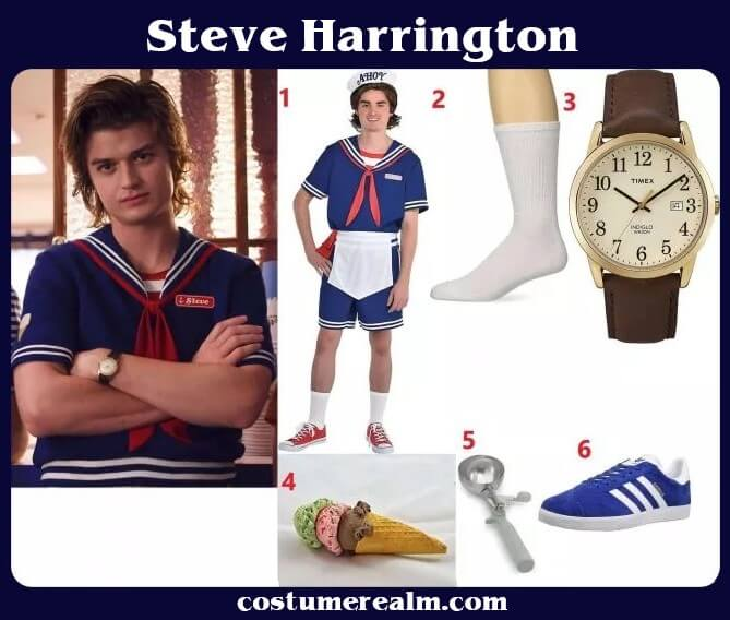 Steve scoops ahoy costume