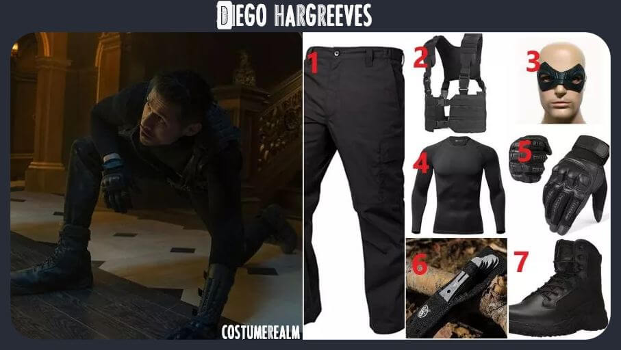 Diego Hargreeves Outfits