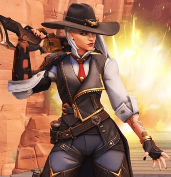Overwatch Ashe Outfits