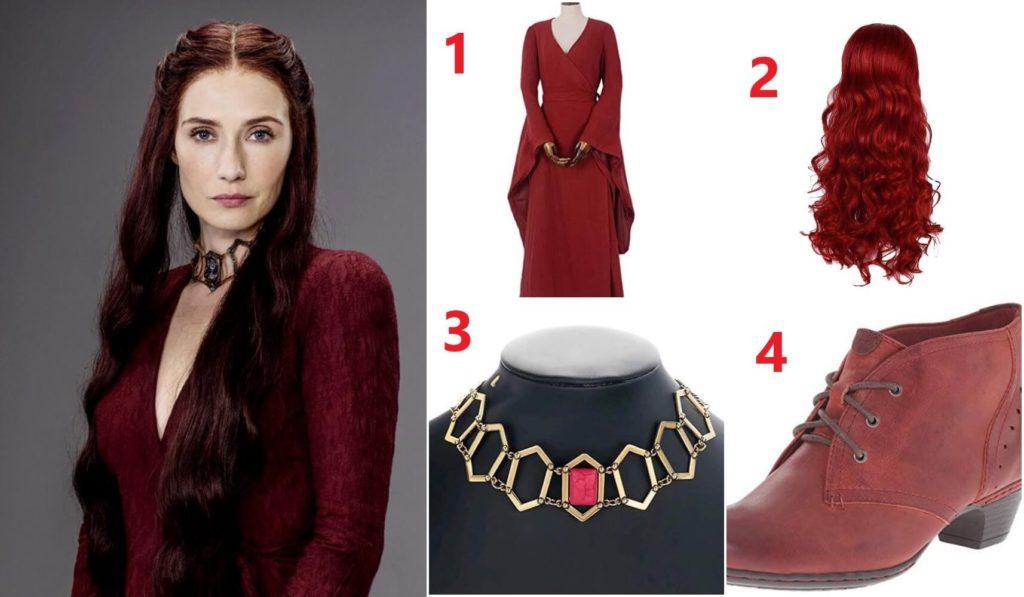 Melisandre Costume Guide