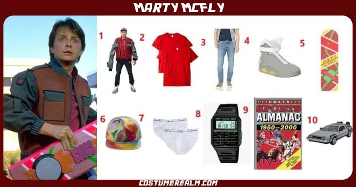 Marty McFly Future Costume