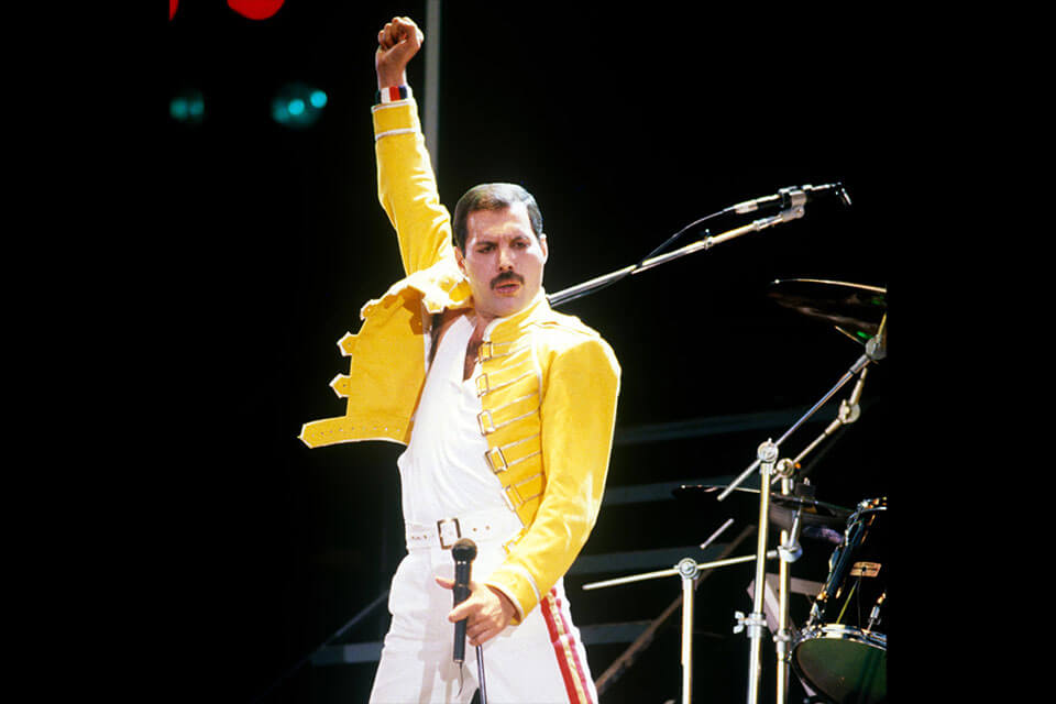 Dress Like Freddie Mercury Yellow Jacket Costume
