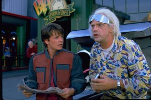 Marty and Doc in Future