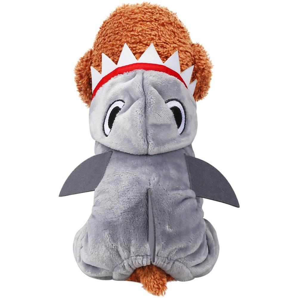 Grey Shark Dog Costume