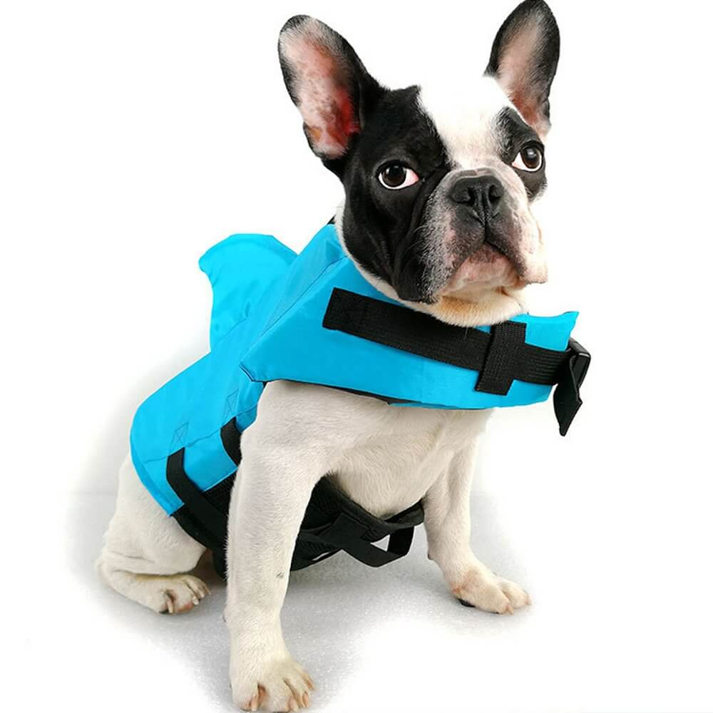 Adjustable Dog Shark Life Jacket