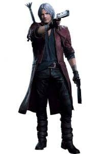 Dante Outfits DMC 5