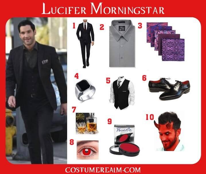 Lucifer Morningstar Costume