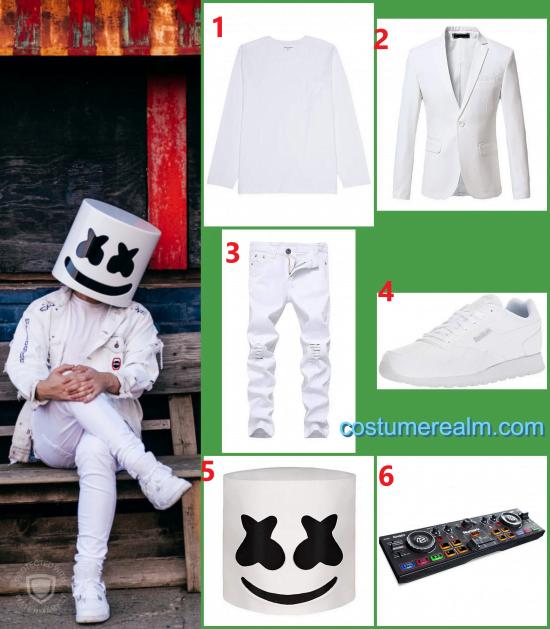 Marshmello Halloween Costume