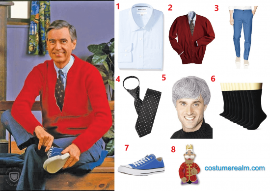 Diy Mr Rogers Halloween Costume 2020 Diy Halloween Costume