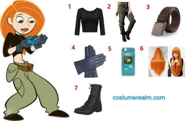 kim possible halloween costume 2020 diy halloween costume kim possible halloween costume 2020