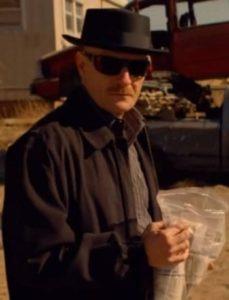 Walter White Heisenberg Costume