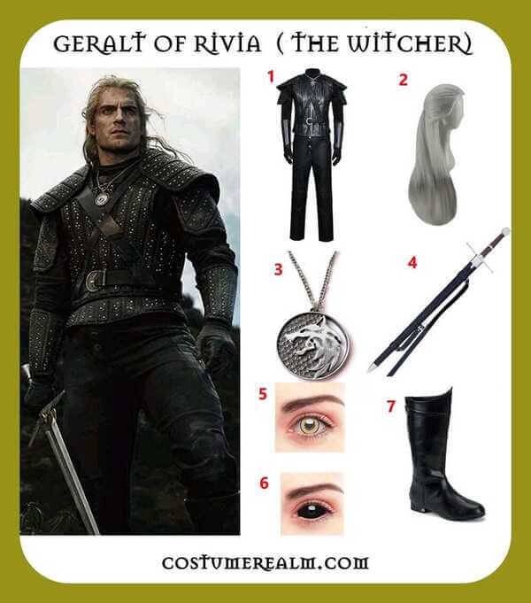 Geralt Of Rivia Costume