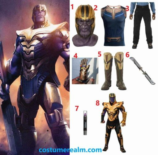 How To Dress Like Thanos