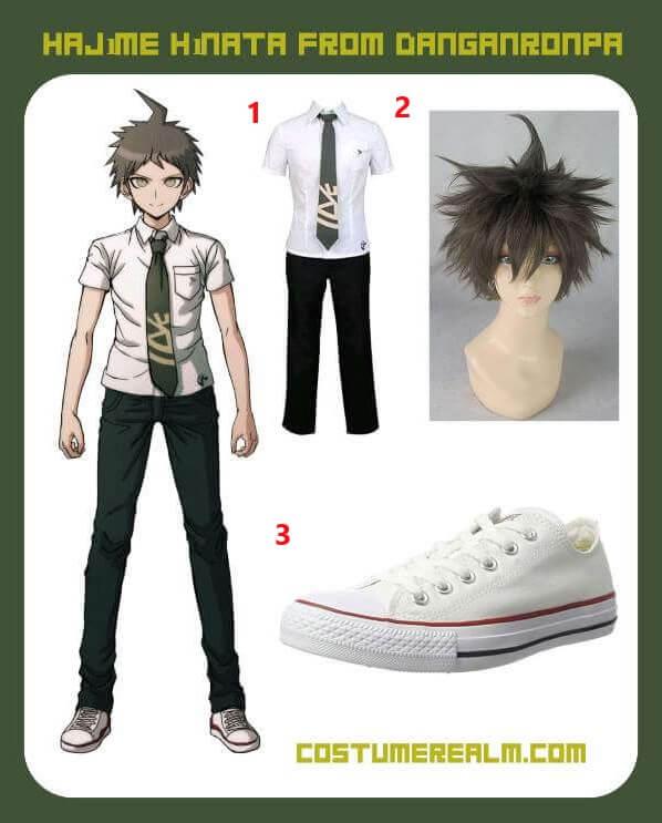 Danganronpa Hajime Hinata Costume Guide