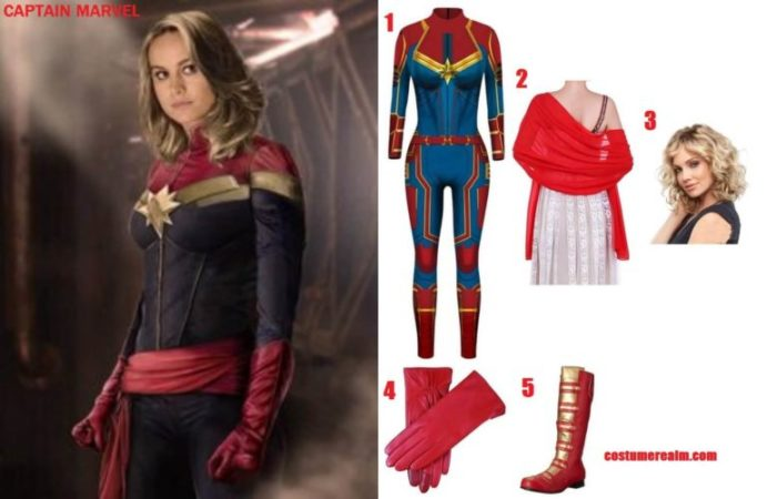 Dress Like Captain Marvel Costume Guide Diy Marvel Hallowen Costume Guide Diy captain marvel costume that only takes a couple days and roughly $23 to make. dress like captain marvel costume guide
