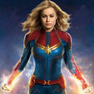 Captain Marvel Costume 1