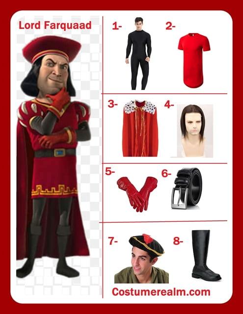 Dress like Lord Farquaad from Shrek Costume Guide