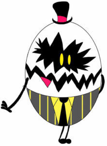 Hazbin Hotel Egg Bois Costume