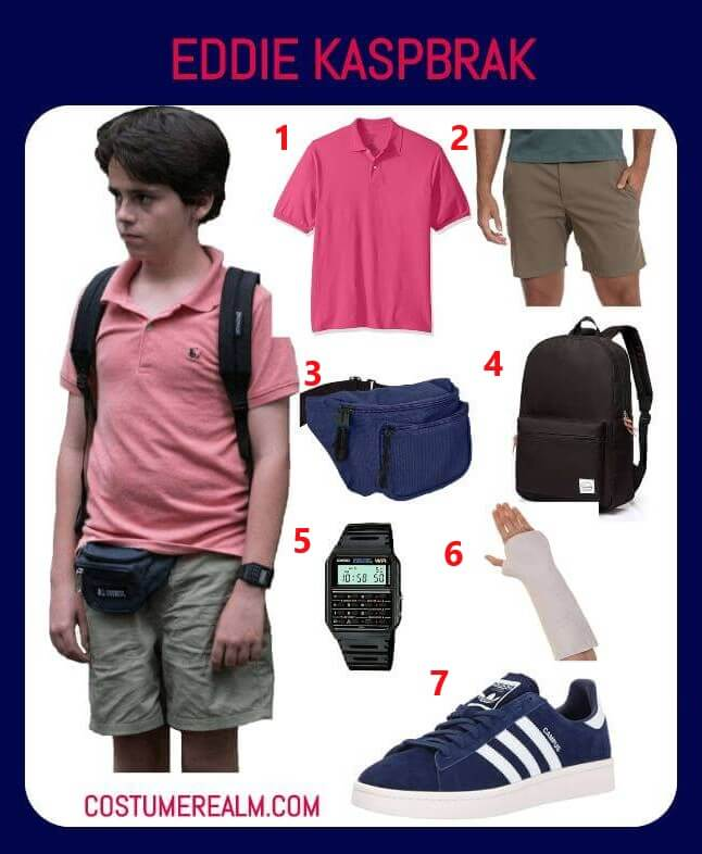 How To Dress Like Eddie Kaspbrak Costume From IT, Diy