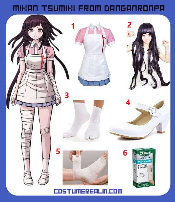 Mikan Tsukimi Costume Guide