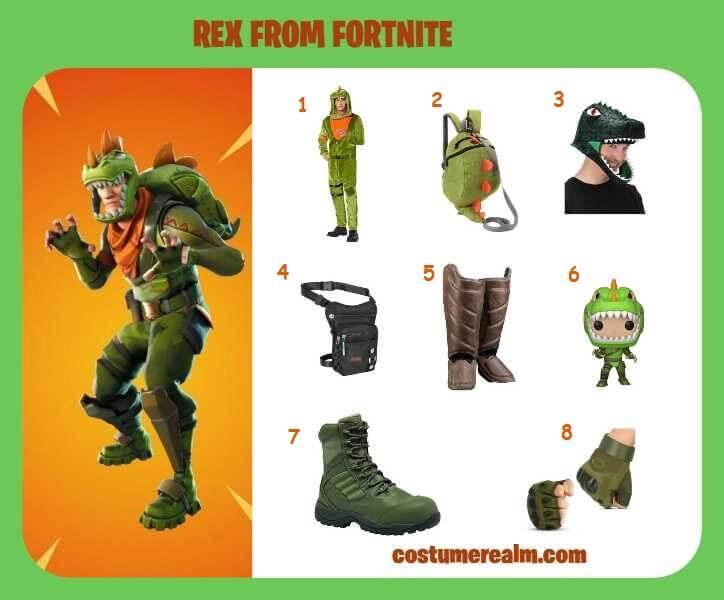 How To Dress Like Fortnite Rex Costume Guide, Diy Fortnite