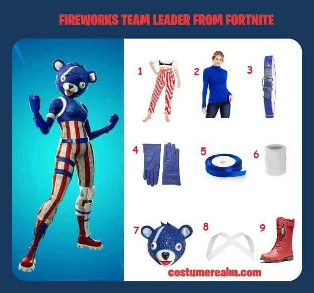 How To Dress Like Fortnite Fireworks Team Leader Costume