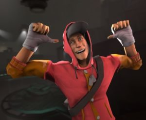 TF2 Scout Costume 1
