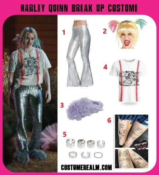 Harley Quinn Break Up Costume