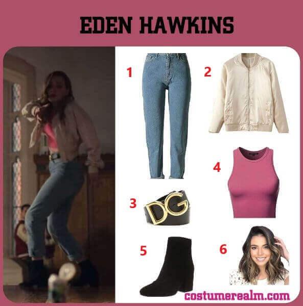 Diy Locke And Key Eden Hawkins Costume
