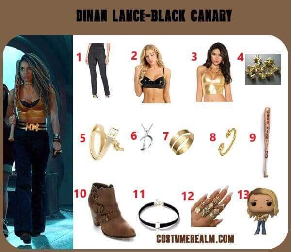How To Dress Like Black Canary Costume Guide Diy Black Canary Costume Birds Of Prey Tutorial