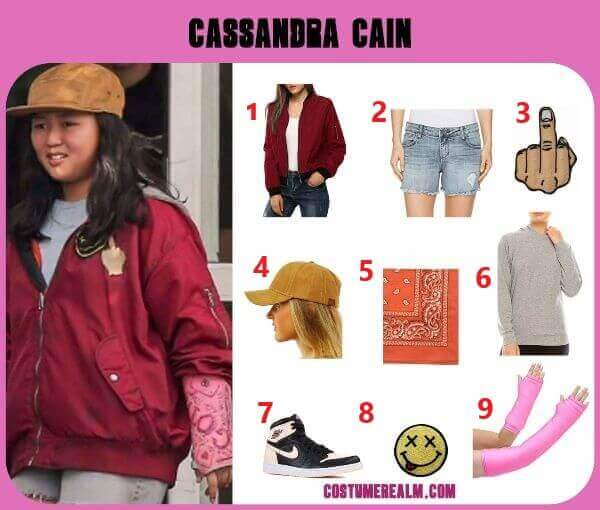 How To Dress Like Cassandra Cain Costume Guide Diy Birds Of Prey Cassandra Cain Halloween Costume