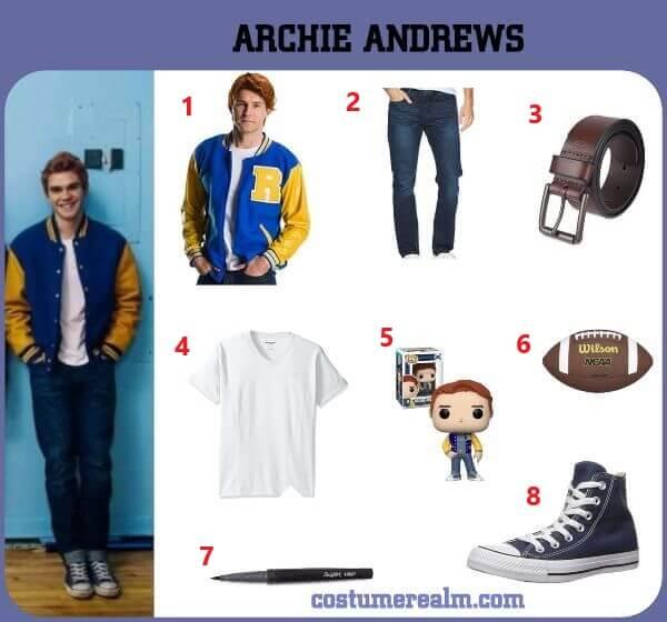 Diy Archie Andrews Costume
