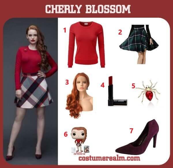how to dress like cheryl blossom costume guide diy