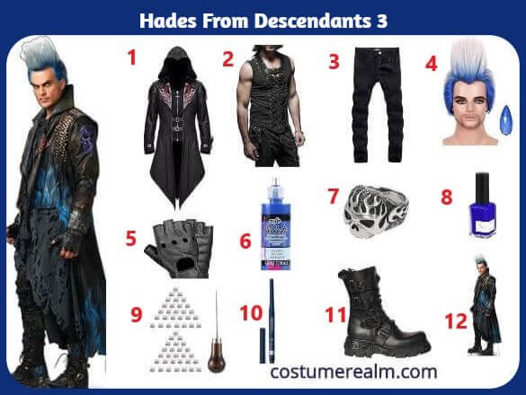 Diy Hades Costume