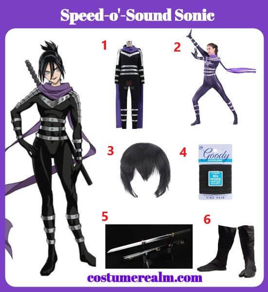Diy Speed-o'-Sound Sonic Costume