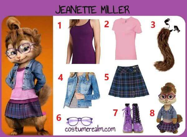 How To Dress Like Jeanette Miller Costume Diy Jeanette Chipette Costume For Halloween