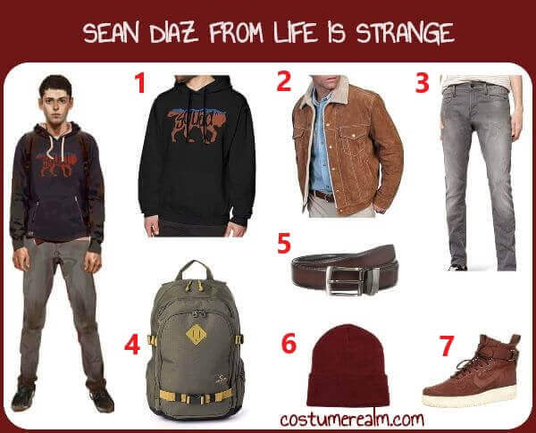 Life is Strange Sean Costume