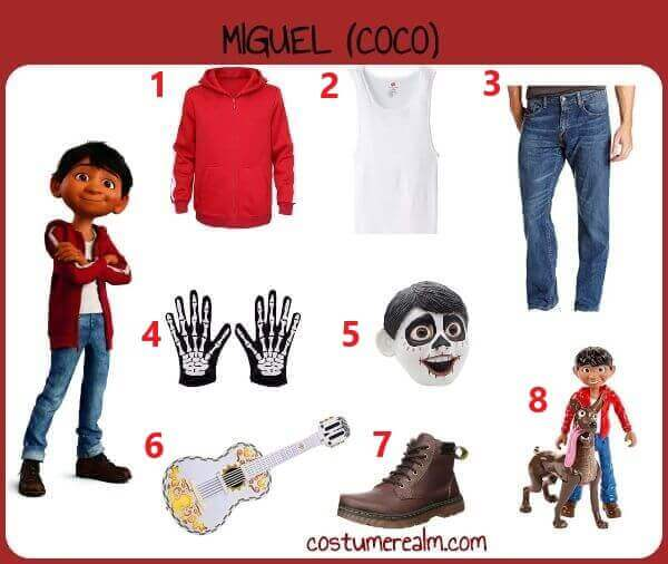 Diy Miguel Rivera Costume