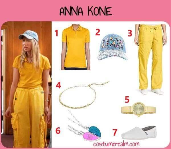 Diy Anna Kone Costume
