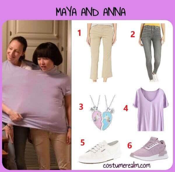 Pen15 Anna And Maya Costume