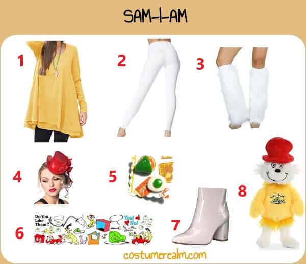 Diy Sam I Am Costume For Women