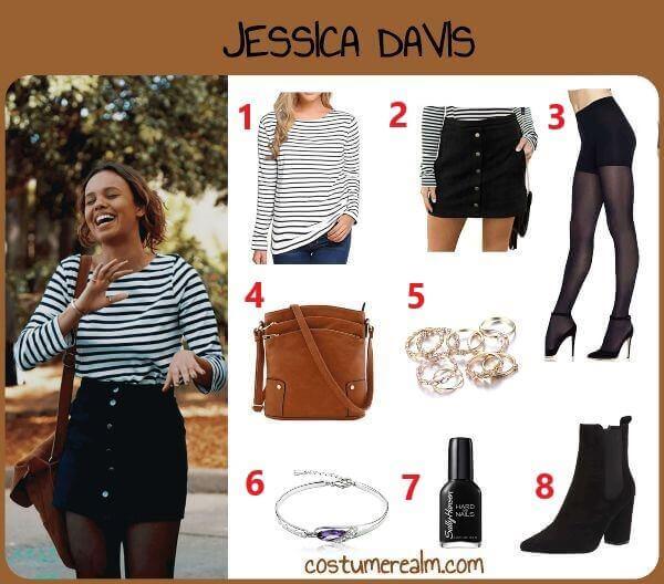 Diy Jessica Davis Costume