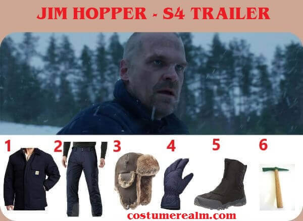Diy Jim Hopper Season 4 Trailer Costume